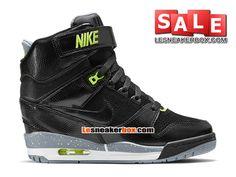 meet 94d2e c5ff0 Officiel Nike Air Revolution Sky Hi GS Chaussures Nike Basketball Pas Cher  Pour Femme-Chaussure Basket Homme Nike