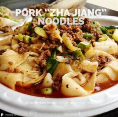 "PORK ""ZHA JIANG"" NOODLES   XI'AN FAMOUS FOODS   Upper West Side, NYC   NO HORSE PLAY   PHUDE (NYC)   Food. Photos. 'Tude.   http://wp.me/pZCUU-3jP"