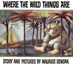 """Where The Wild Things Are"" by Maurice Sendak ... #LibraryLoans"