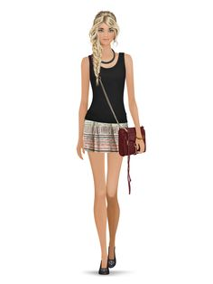Walk with Puppy- 4.8 Stars. Styled with: Yosi Samra, Parker, Twenty, Rebecca Minkoff, Dalla Nonna, Karen London   Create your own look with Covet Fashion