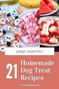 Summer Dog Treats, Frozen Dog Treats, Diy Dog Treats, Treats For Puppies, Homade Dog Treats, Pumpkin Dog Treats, Doggie Treats, Healthy Dog Treats, Dog Cookie Recipes
