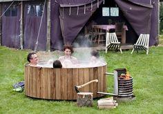 Wood Fired Hot Tub: Iconic Dutchtub Heats Organically