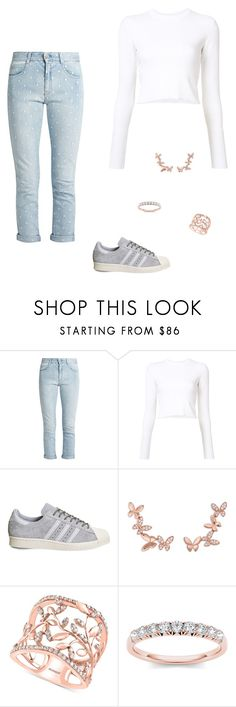 """""""Untitled #382"""" by carolinamcury ❤ liked on Polyvore featuring STELLA McCARTNEY, Proenza Schouler, adidas, Anyallerie and Effy Jewelry"""