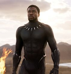 Chadwick Boseman didn't agree to star in 'Black Panther' because it's a Marvel film.Boseman is reprising his role as T'Challa in Black Panther.Well one, I mean they [Marvel]. Black Panthers, Film Black, Black Actors, Movie Black, Marvel Films, Ms Marvel, Marvel Characters, Kanye West, Dick Cheney