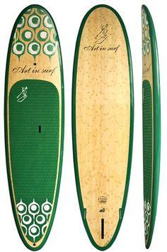 "Art in Surf Fun4All - Da Monster Fun 11'0"" HIT SUP Board green - Home"