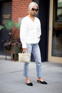 New York Fashion Week Street Style Spring 2018   StyleCaster