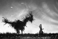 Family Photographs Made Fantastical by Alain Laboile