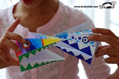 Talking Heads - fun for kids Classroom Art Projects, Craft Projects For Kids, Art Classroom, Diy For Kids, Activities For Kids, Paper Puppets, 6th Grade Art, Fun Arts And Crafts, How To Make Toys