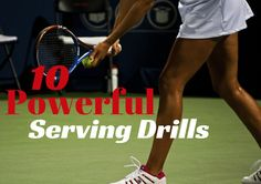 One of the most important skills to focus on as a tennis player is your serve. With these ten powerful tennis serve drills you will be well on your way to mastering the serve and becoming a more we… Tennis Serve, Tennis Match, Becoming A Life Coach, New Things To Try, Tennis Workout, Tennis Elbow, Tennis Tips, Tennis Clothes, Tennis Players
