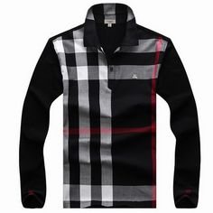 Burberry Men Long Sleeve Polos cheap price