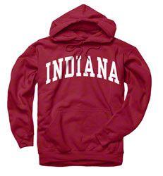 Indiana Hoosiers Sweatshirt:) Dream College<3