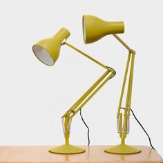 Anglepoise + Margaret Howell - Yellow Ochre Edition – BOOK/SHOP