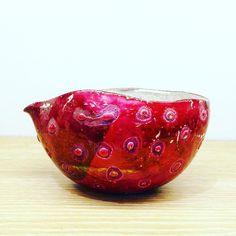 富田啓之さん作ラスター彩銀彩片口 #織部 #織部下北沢店 #陶器 #器 #ceramics #pottery #clay #craft #handmade #oribe #tableware #porcelain