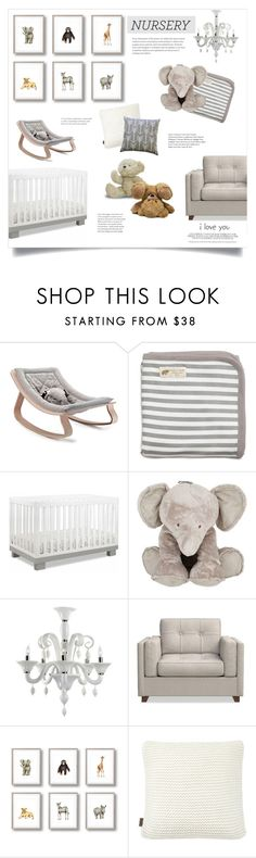 """""""Baby Boy's Room"""" by catchsomeraes ❤ liked on Polyvore featuring interior, interiors, interior design, home, home decor, interior decorating, Monica + Andy, Tartine et Chocolat, Williams-Sonoma and Baby"""