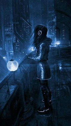 Art Anime Fille, Anime Art Girl, Anime Girls, Manga Art, Arte Cyberpunk, Cyberpunk 2077, Cyberpunk Anime, Cyberpunk Aesthetic, Cyberpunk Fashion