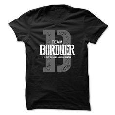 I Love Bordner team lifetime member ST44 T shirts