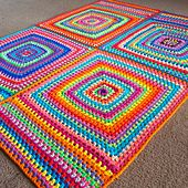 Ravelry: Four Square pattern by BabyLove Brand