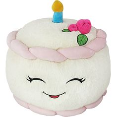 Squishable Birthday Cake: An Adorable Fuzzy Plush to Snurfle and ...