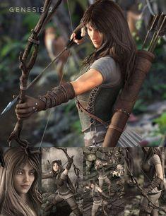 Ranger Bundle for Genesis 2 Female(s)
