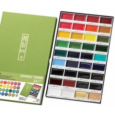 Zig Kuretake Gansai Tambi 36 COLOR SET at Simon Says STAMP! - Just arrived, have not used them yet.