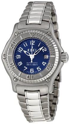 Ebel Women's 9172321/4665P Discovery Blue Dail Watch