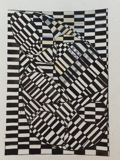 New Op art design, plans for agateware Op Art, It Works, How To Plan, Ideas, Design, Thoughts