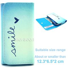Universal Simple G21 Purse Button Flip Leather Case Cover For Sony Nokia LG HTC #UnbrandedGeneric