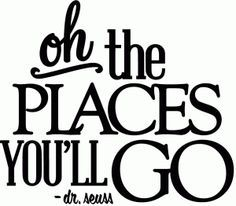 Silhouette Design Store - View Design oh the places you'll go - vinyl phrase