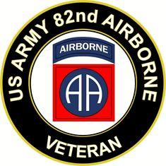 Logo Army SSI air Military American Vinyl Yellow Airborne Tab Shaped Sticker