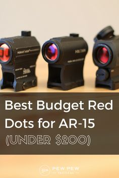 We will cover three of the most popular budget red dots and rank them in reliability, clarity, mounting options, bang-for-the-buck-ness, and more.  Get ready for some torture testing too!