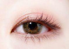 Coral pink eye make up #Daily makeup  Follow me and see more pins