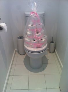 Housewarming gift. Love this idea. Who can't use toilet paper...hilarious