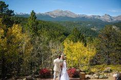 Colorado Fall Mountain Wedding at Peaceful Valley Resort & Conference Center in Lyons, Colorado.