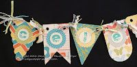Celebrate Banner using CTMH's Dotty For You collection