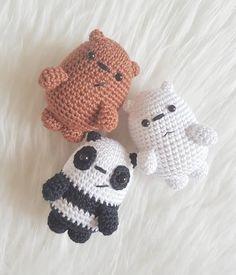 Mesmerizing Crochet an Amigurumi Rabbit Ideas. Lovely Crochet an Amigurumi Rabbit Ideas. Crochet Kawaii, Cute Crochet, Crochet Crafts, Yarn Crafts, Crochet Projects, Knit Crochet, Crochet Case, Crochet Patterns Amigurumi, Amigurumi Doll