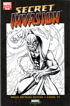 Marvel Comics Iron Fist blank cover sketch  by Gener Pedriña