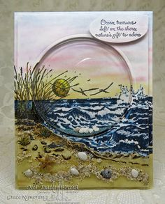 Stamps - Our Daily Bread Designs The Mighty Sea, Ocean Treasures