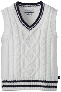 Kitestrings Boys 2-7 Toddler Cotton... - http://www.windowshoppingsite.info/kitestrings-boys-2-7-toddler-cotton/ - Boys cotton v-neck sweater vest, cable knit pattern on front100 percent cotton