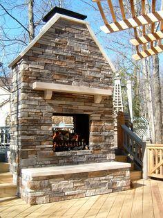 #OutdoorFireplace  Aspen Fireplace & Patio INC  Columbus, OH