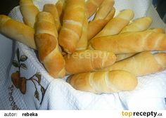 cz - My site Spelt Recipes, Bread Recipes, Snack Recipes, Snacks, Czech Recipes, Russian Recipes, Czech Desserts, Salty Foods, Bread And Pastries