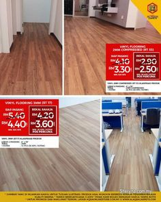 Other for sale, RM3 in Klang, Selangor, Malaysia. The most recommended flooring!!  Vinyl Flooring is the most beautiful flooring for any style & any