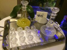 Welcome with Liqueurs & Tsipouro