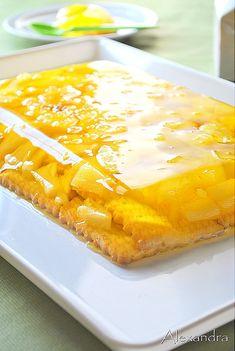 Greek Sweets, Frozen Yoghurt, Fun Cooking, Sweets Recipes, Jello, Cornbread, Macaroni And Cheese, Sweet Home