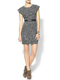 cute for work - Rhyme Los Angeles Ginette Tweed Dress | Piperlime