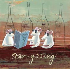 'Star-gazing' by Frans Groenewald Africa Art, In Vino Veritas, Brush Strokes, Stargazing, Chefs, Vineyard, Champagne, Addiction, Paintings