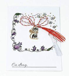 Martisor pisicuta charm: Amazon.co.uk: Handmade Handmade Products, Charmed, Amazon, Amazons, Riding Habit