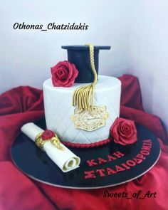 Graduation theme Cake by Othonas Chatzidakis