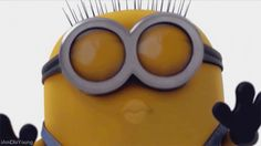 Check out all the awesome despicable me minions gifs on WiffleGif. Including all the despicable me gifs, minions gifs, and minion gifs. Gif Minion, Amor Minions, Minion Humour, Cute Minions, Minions Quotes, Funny Minion, Minion Sayings, Minion Whaaat, Minions Cartoon