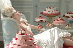 Queen's love nest  | production design photos from Sofia Coppola's Marie Antoinette