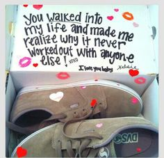 When I buy my guy shoes!! :)